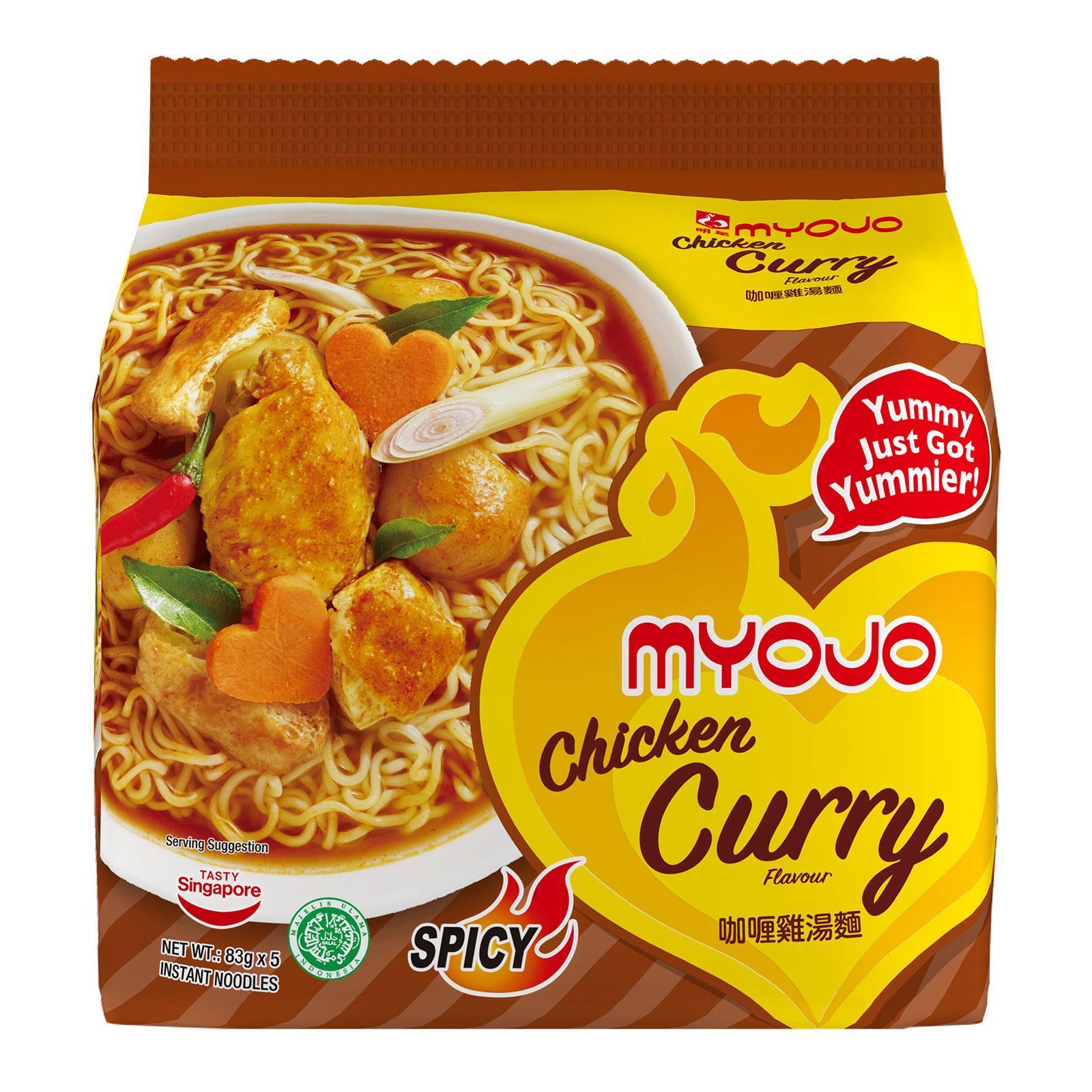 Myojo Instant Noodles - Curry Chicken