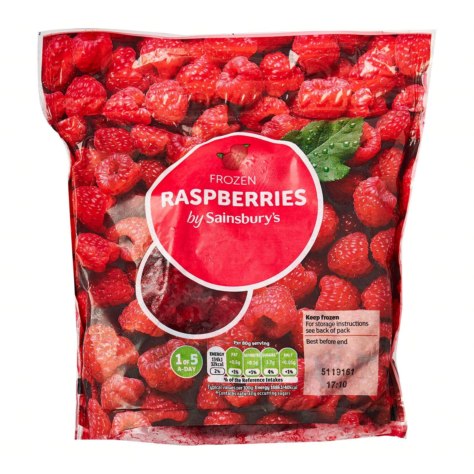 Sainsbury's Raspberries - Frozen