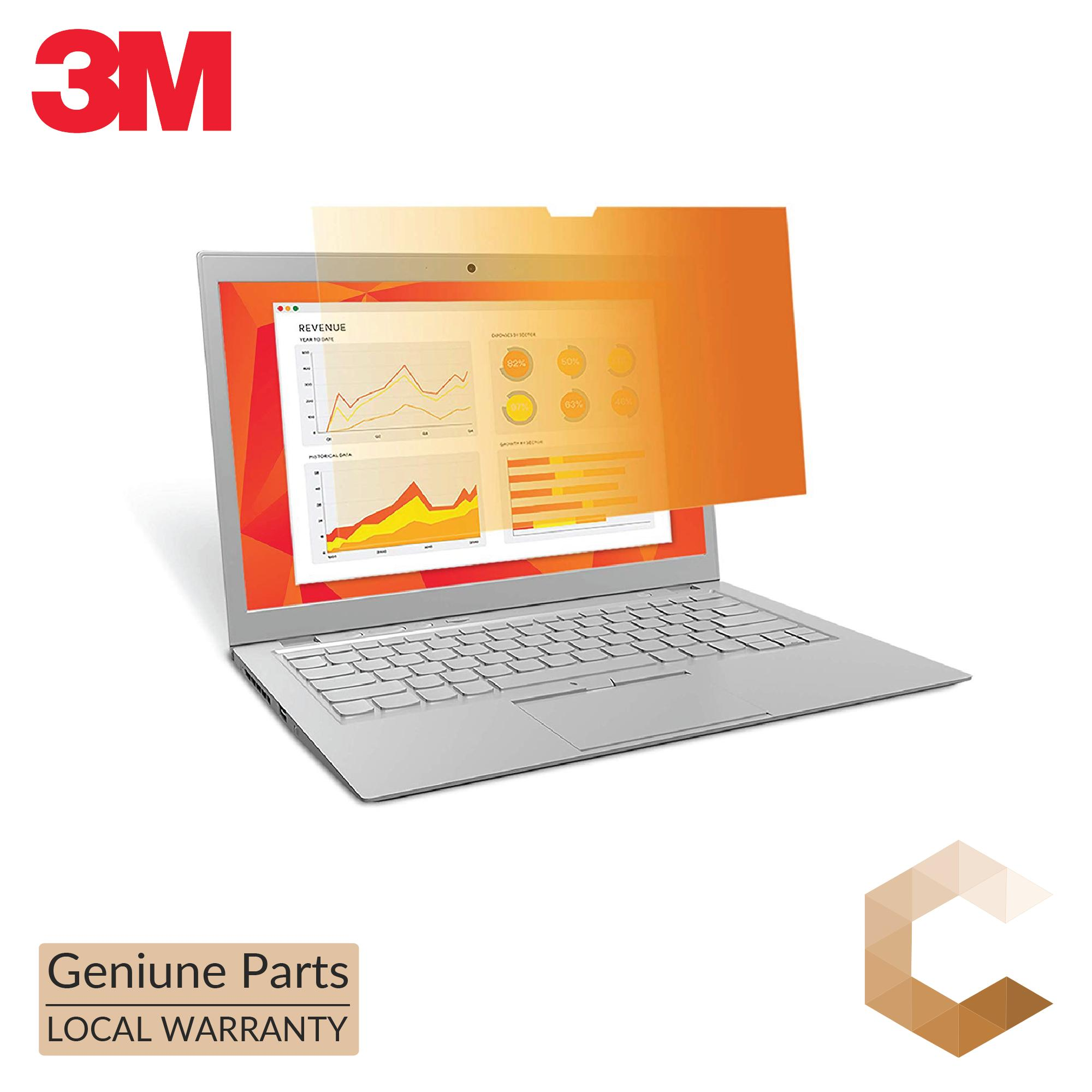 3M™ Gold Touch Privacy Filter for 14.0 Full Screen Laptop (16:9 aspect ratio)