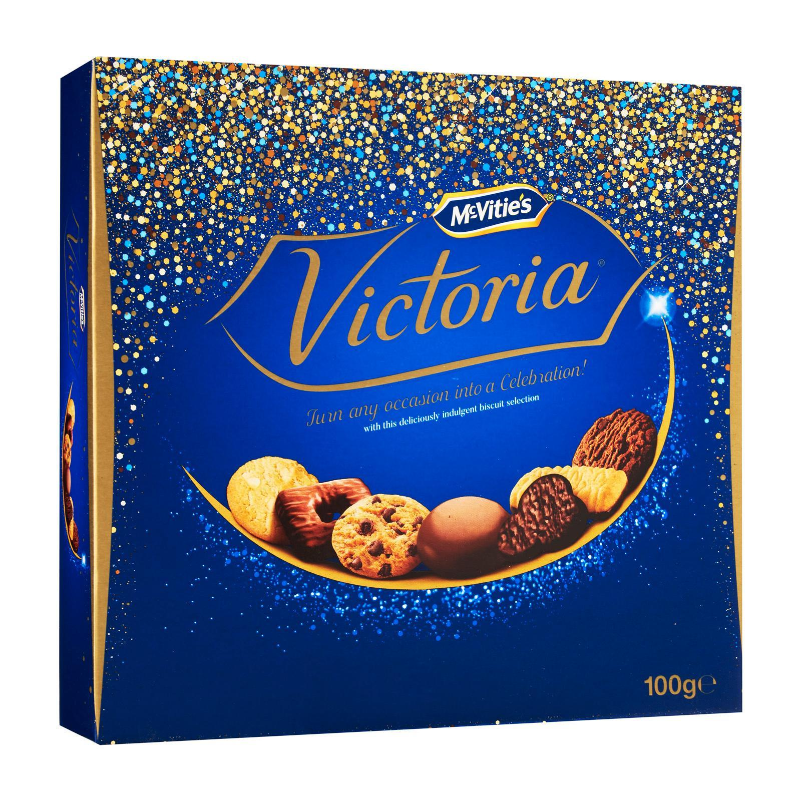 McVitie's Victoria Chocolate Biscuits Collection - Christmas Special