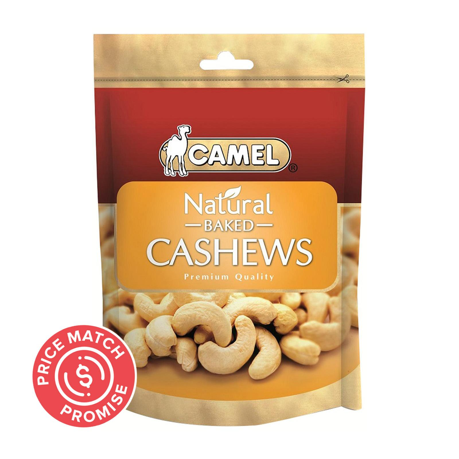 CAMEL Natural Baked Cashew Nuts 400g