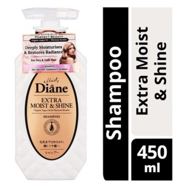 Buy Moist Diane Shampoo - Extra Moist & Shine 450ml Singapore