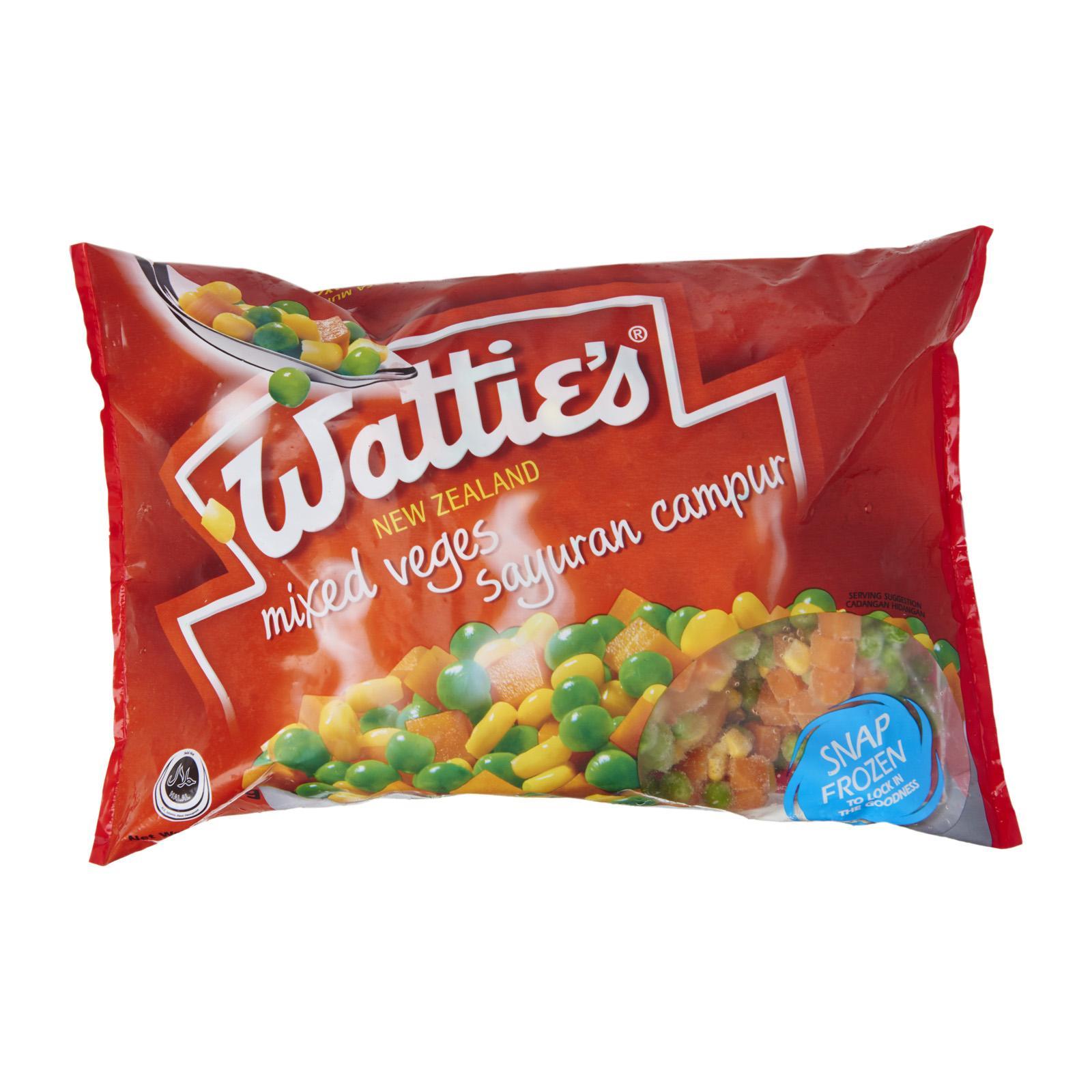 Watties Mixed Vegetables - Frozen By Redmart.