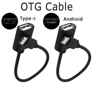 VHOIC Mouse Mobile Phones Smartphone Type-C OTG Adapter Cable Micro USB Connector Data Sync Cord Android thumbnail