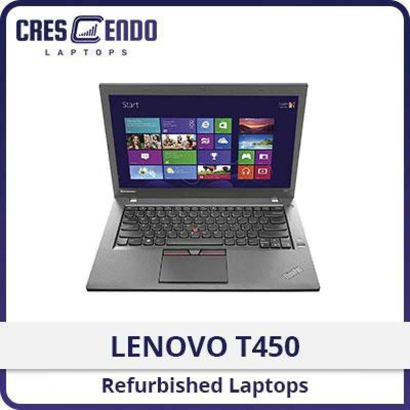 [Refurbished] LENOVO T450: Professional Ultrabook 14 / Intel Core i5 / 8GB RAM / 180GB SSD (WIN10) / One Month Warranty