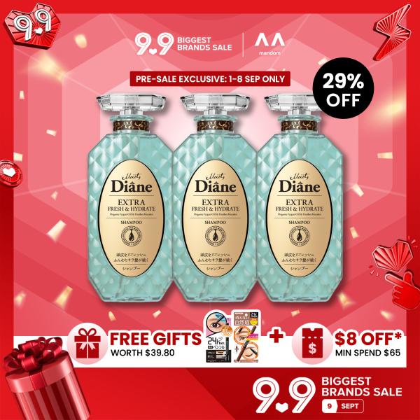 Buy [Bundle of 3] Moist Diane Perfect Beauty Extra Fresh & Hydrate Shampoo Singapore