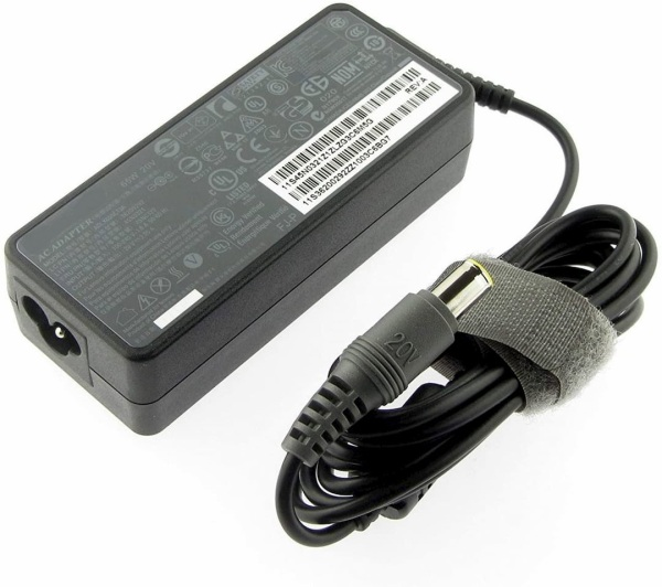 Original Lenovo 20V 3.25A 65W (7.4*5.0mm) ADLX65NCT3A Power Supply Laptop AC Adapter/ Charger For Lenovo ThinkPad R60, R61, T400, T410, T500, T60, T60p, T61, T61p, X200, X300, X60s 2507, X60s 2533, Z60 Series - Singapore Safety Mark
