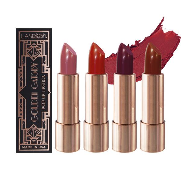 Buy La Splash Golden Gatsby Popup Lipstick Singapore
