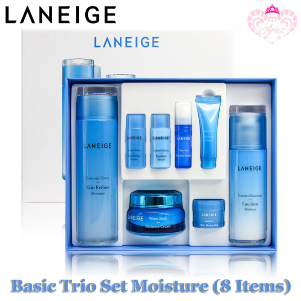 Buy Laneige Basic Trio Set Moisture (8 items) Singapore
