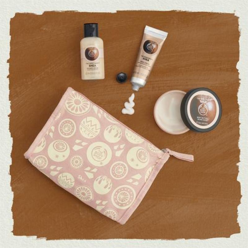 Buy The Body Shop Nutty & Nourishing Shea Delights Bag Singapore