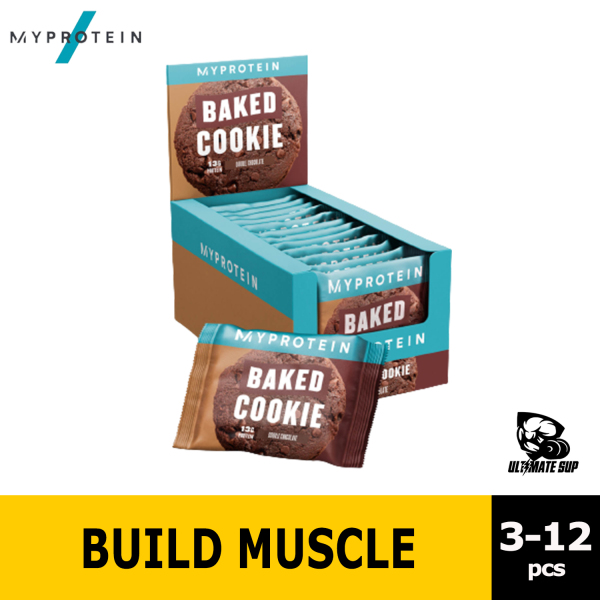 Buy Myprotein Baked Protein Cookie, 13g Protein, Suitable for Vegans, Baked with Quality Ingredients, 3 - 12pcs Singapore