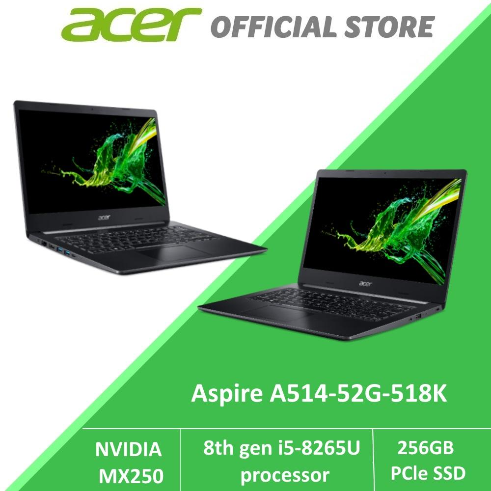 Acer Aspire 5 A514-52G-518K (BLK) Intel i5 Laptop with MX250 Graphics