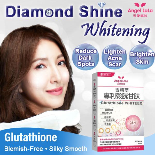 Buy Taiwan No.1 Angel LaLa Glutathione whitening Tablets. Anti-Aging/Anti-Oxidant/Hyaluronic Acid Singapore