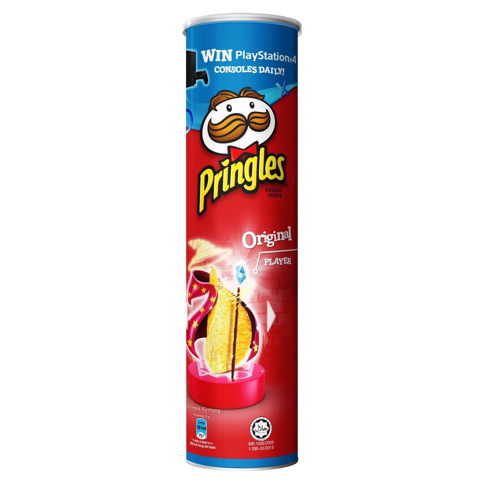 Pringles Original Potato Crisps By Redmart.