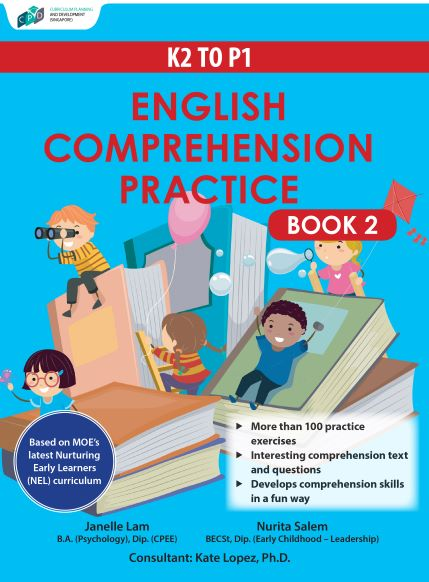 K2 to P1 English Comprehension Practice Book 2/Assessment Books