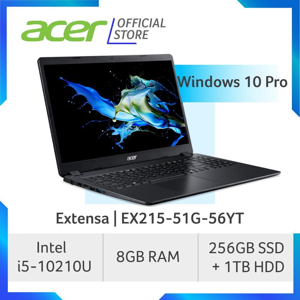 Acer Extensa EX215-51G-56YT (BLK) NEW laptop with 10th gen Intel i5-10210U processor