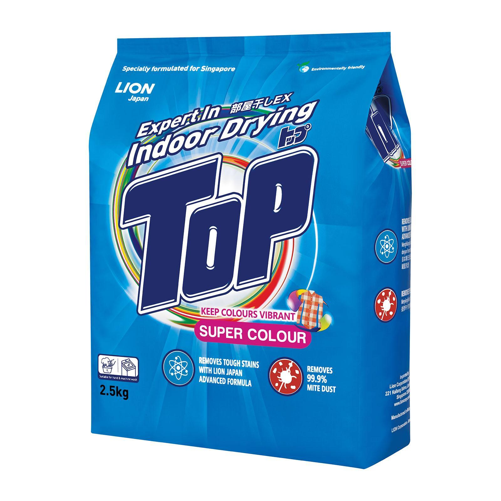 TOP Powder Detergent - Super Colour 2.5kg