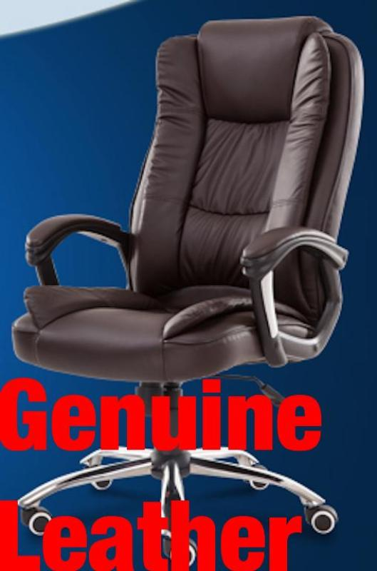 (Ready Stock/Fast Delivery)UMD Genuine Leather Boss Chair 7558/338/501/504/335 (1 Year Warranty & Free Installation) Singapore