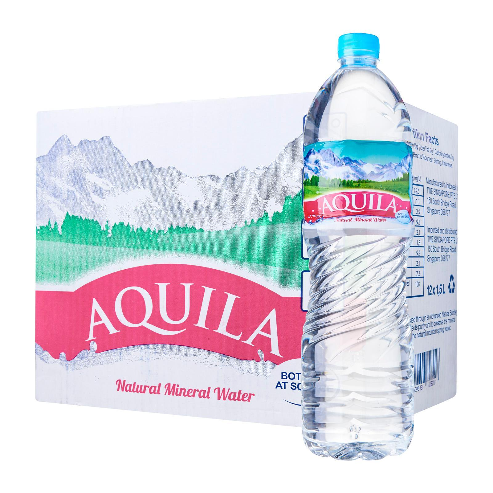 Aquila Natural Mineral Water - Carton