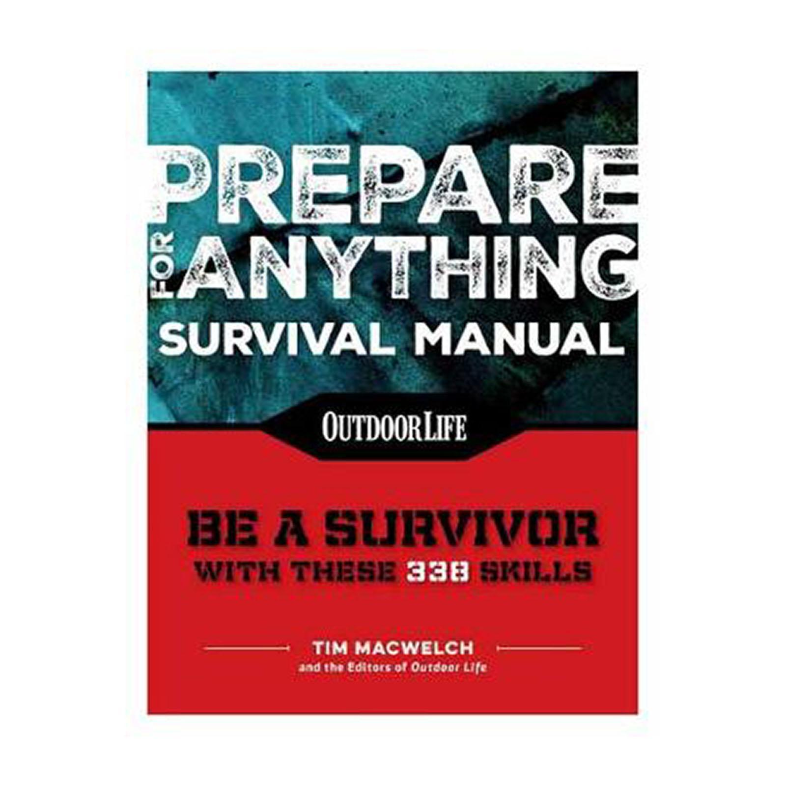 Prepare For Anything: 338 Essential Skills (Paperback)
