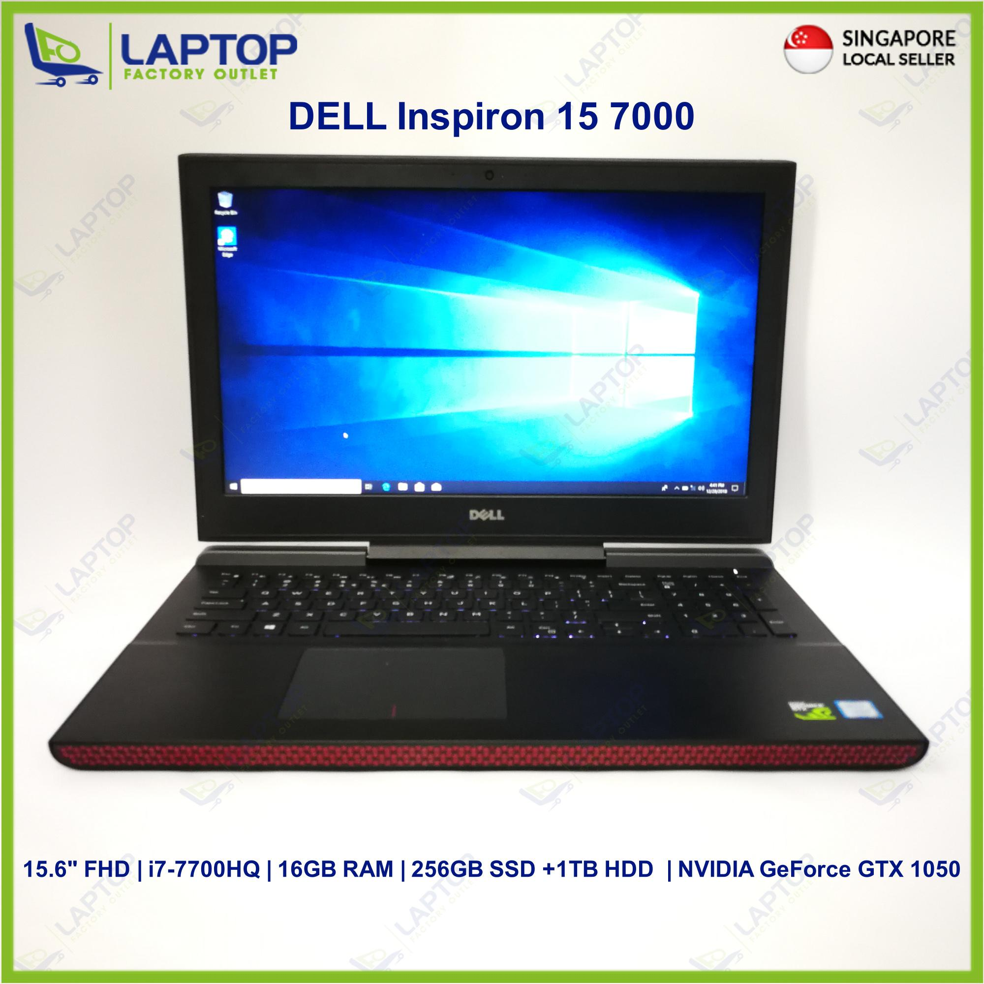 DELL Inspiron 15 7000 (i7-7/16GB/256GB+1TB) Premium Preowned [Refurbished]