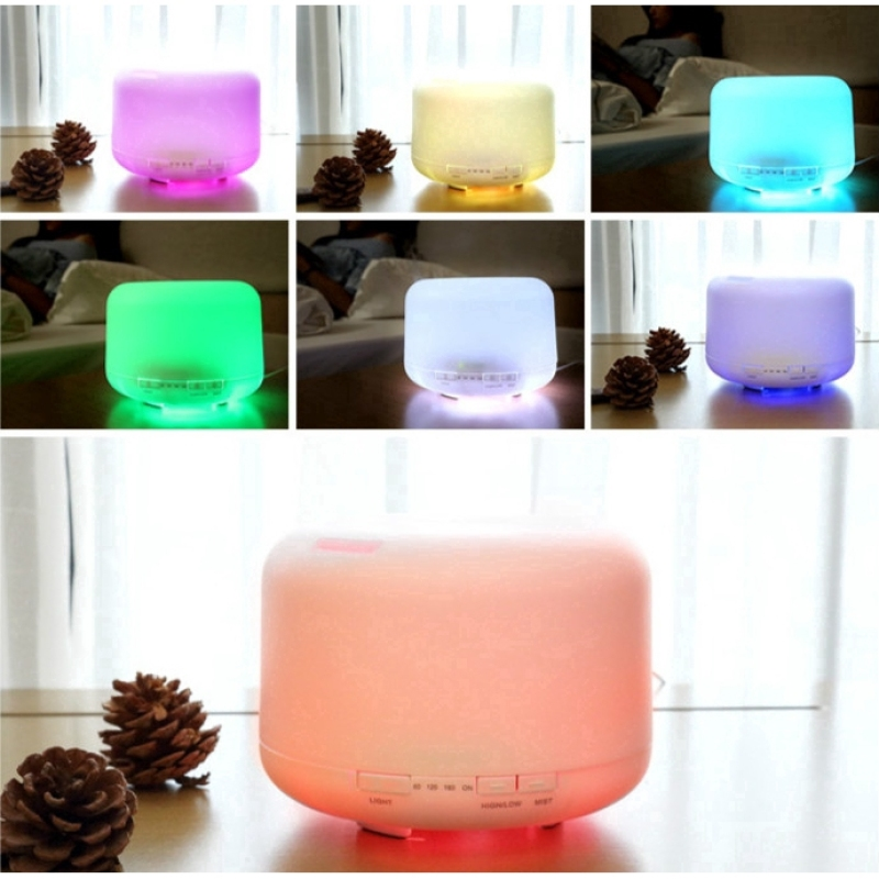 【With Remote】Aroma Diffuser/Mini Humidifier/Essential Oil/550ml/ 3-PIN SG Plug/ English Manual/ Up to 1 Year SG Warranty Singapore