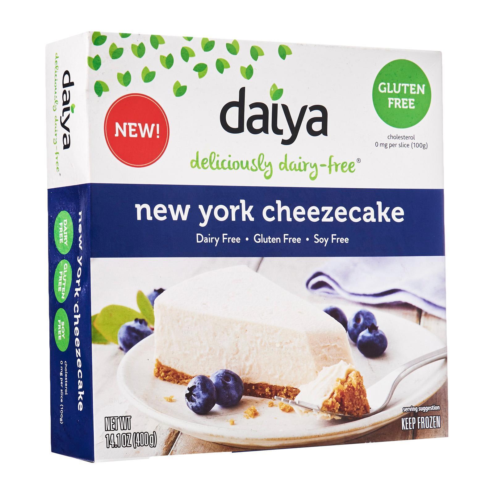 Daiya New York Cheezecake Gluten Free Dairy Free - Frozen