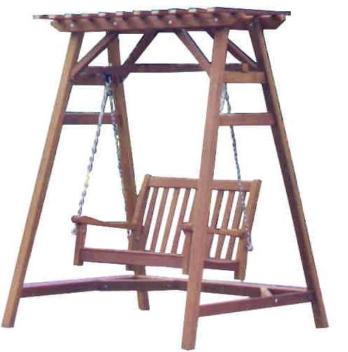 4ft Timber Garden Swing