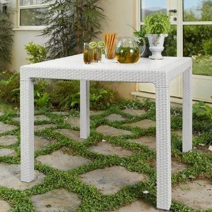 Keter  Quartet Table White