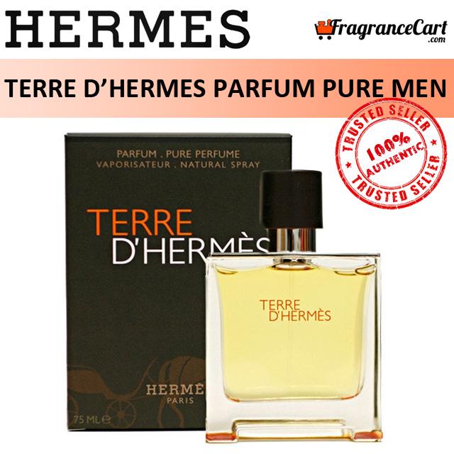 Hermes Terre Dhermes Parfum Pure Perfume For Men (75ml) Hermès Paris Dhermes [brand New 100% Authentic Perfume/fragrance].