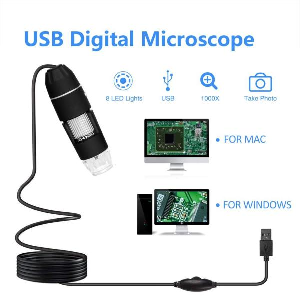 Multifunctional USB Handheld Portable Digital Microscope