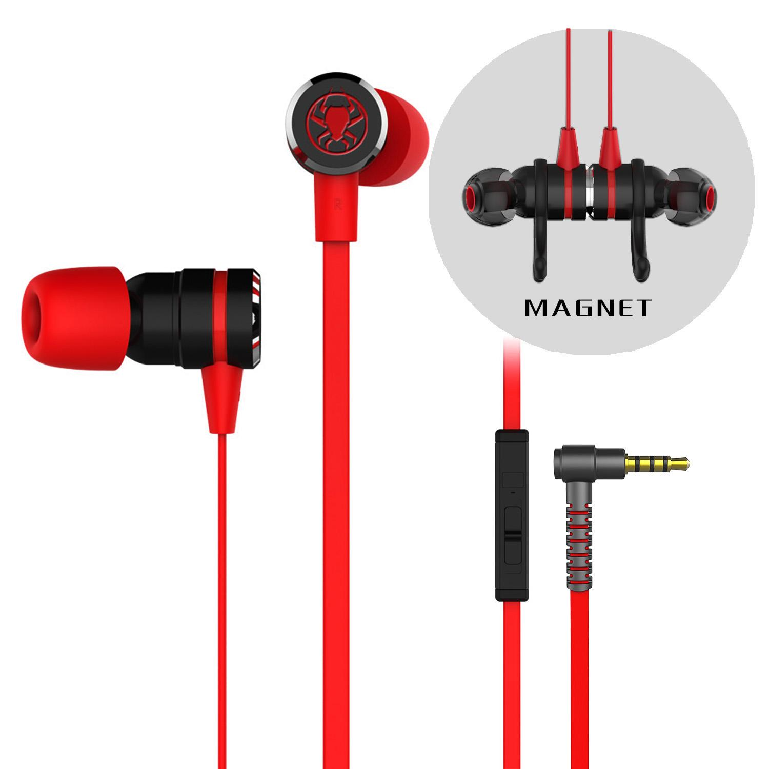 【Local Seller】PLEXTONE G20 Noise Reduction 3.5mm Gaming Headset With Microphone In-ear Wired Magnetic Stereo With Mic