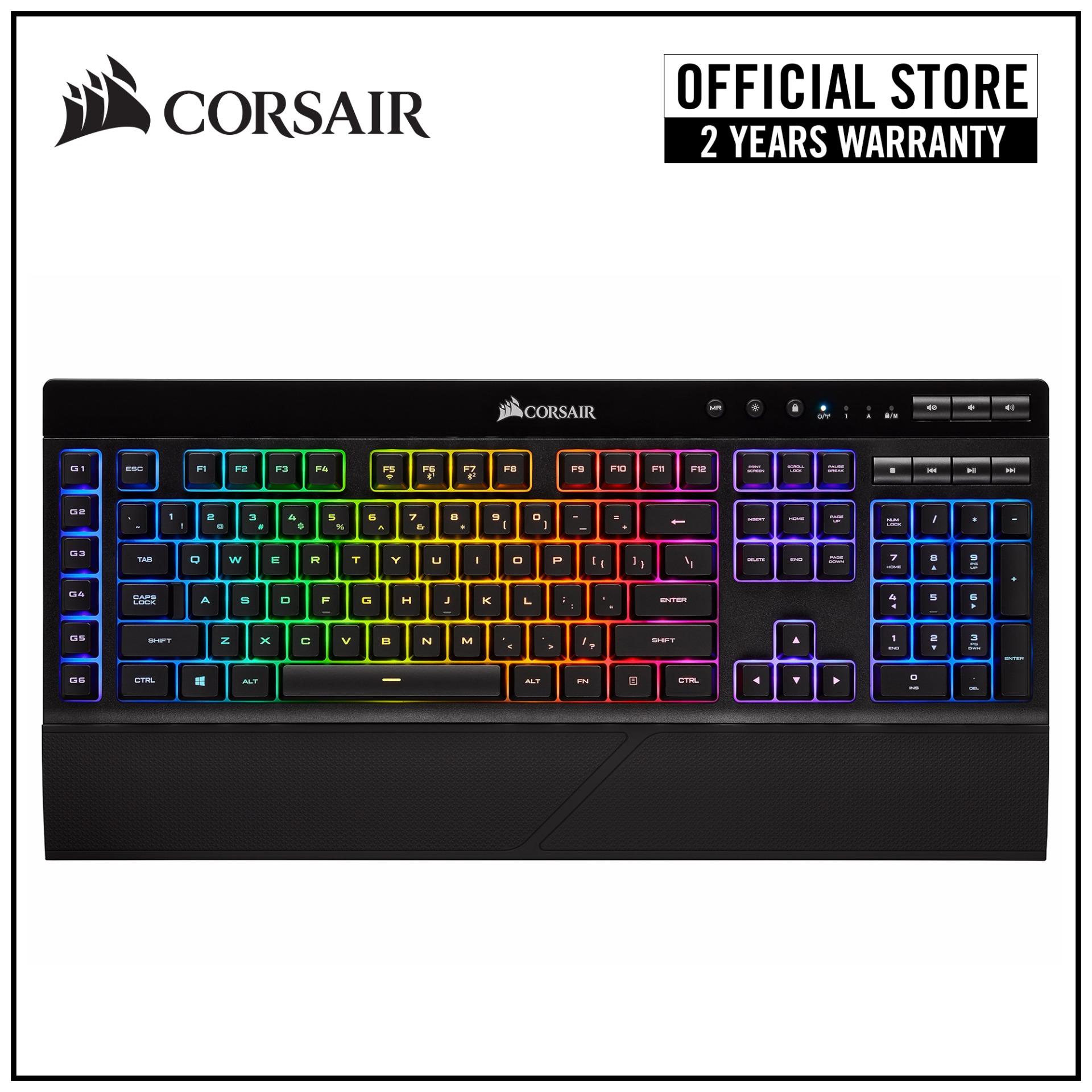 CORSAIR K57 RGB SLIPSTREAM WIRELESS Gaming Keyboard Singapore