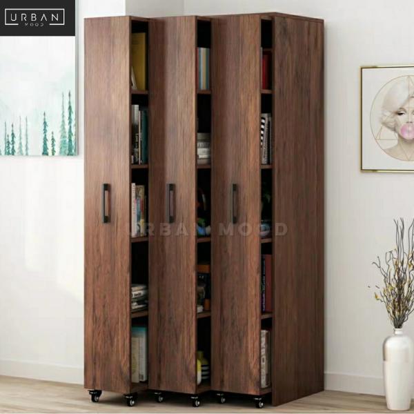 BIBLIO Rustic Vertical Bookshelf