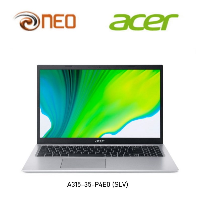 Acer Aspire 3 A315-35-P4E0 15.6 Inches FHD Laptop | Pentium N6000 | 8GB RAM | 512GB SSD Storage