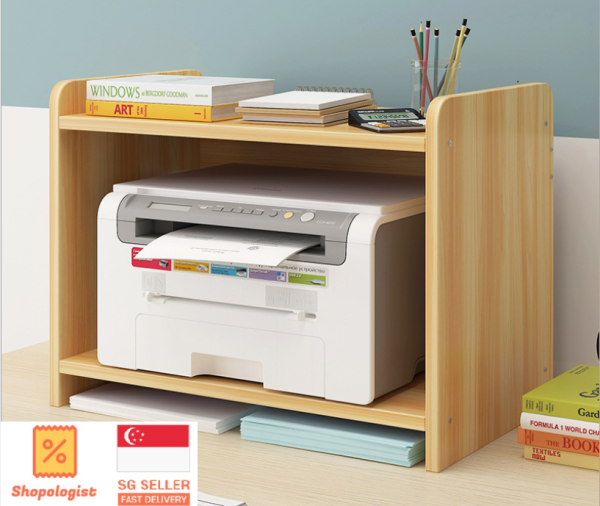 Printer Storage Rack, Large Size, Sturdy Material and Multi Functional