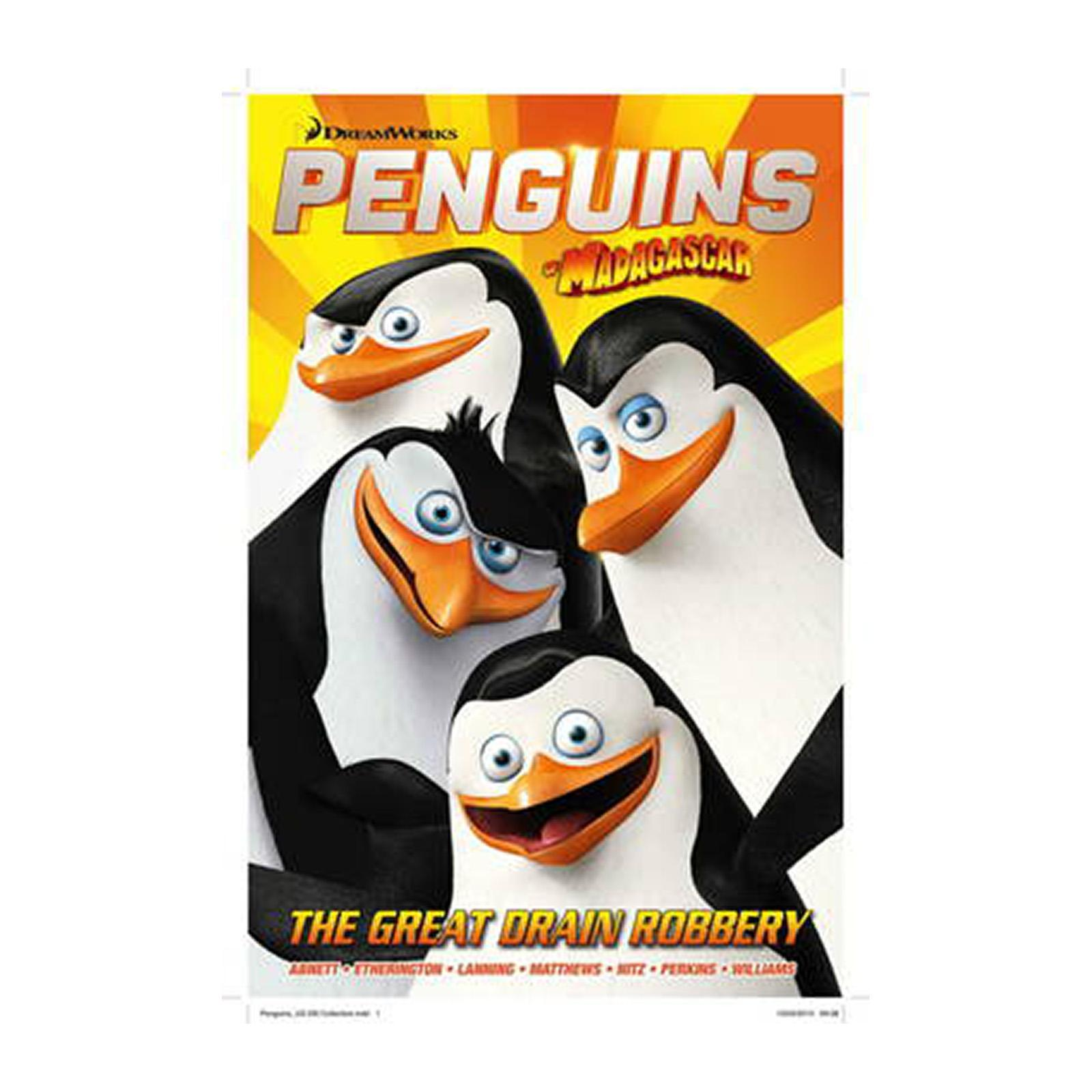 Penguins Of Madagascar: The Great Drain Robbery (Paperback)