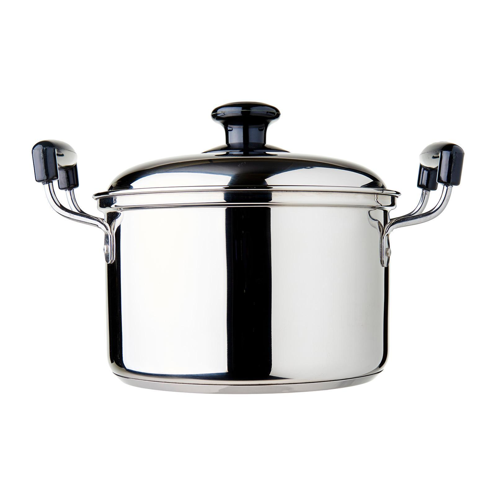 Dolphin Collection Stainless Steel Saucepot (Sandwich Base) 3.05L