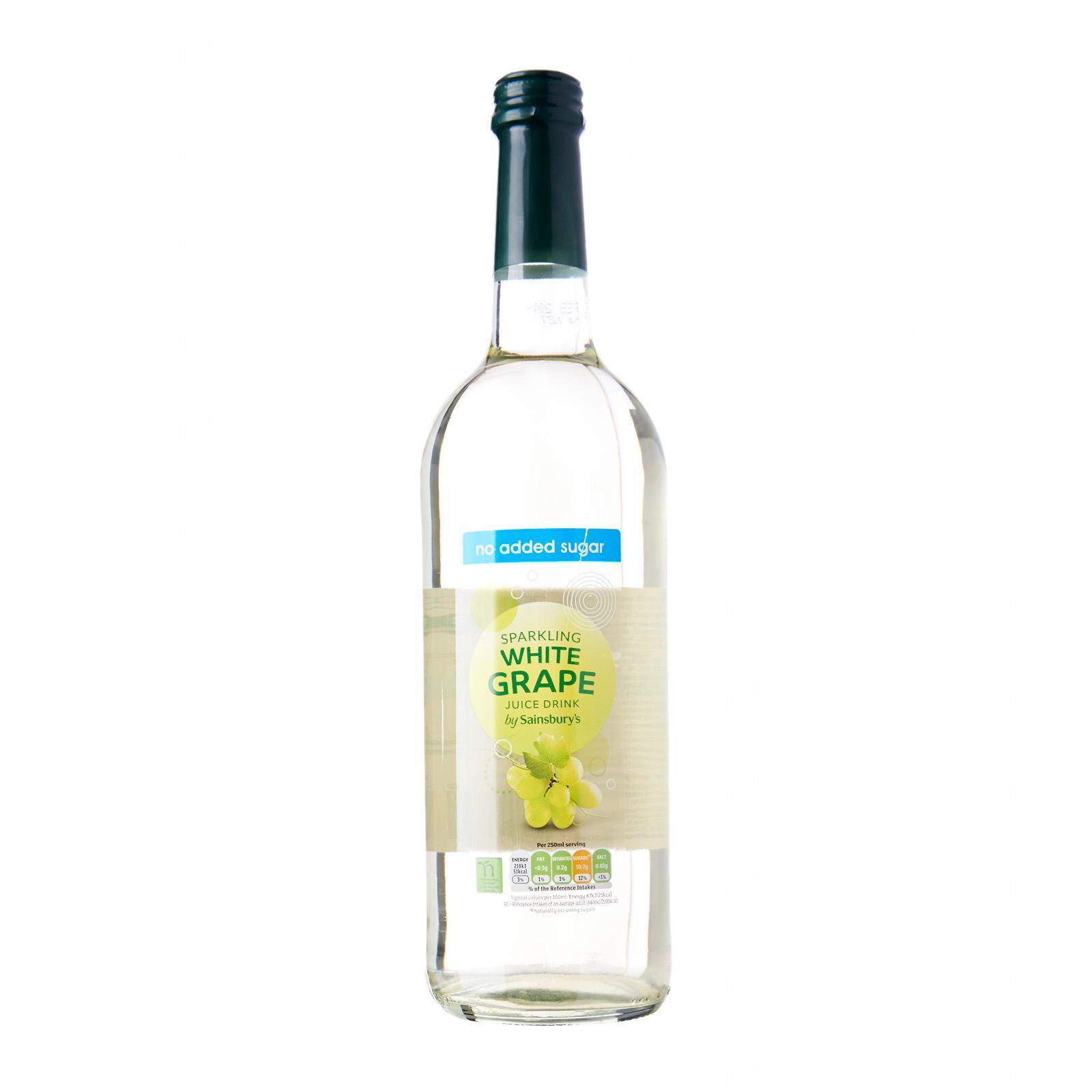 Sainsbury's Sparkling White Grape Juice Drink