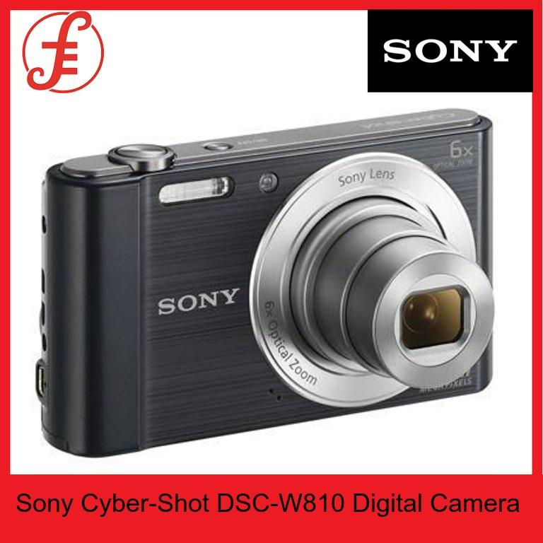 Sony W810 Cyber-Shot Dsc-W810 Digital Camera (w810) By Fepl.