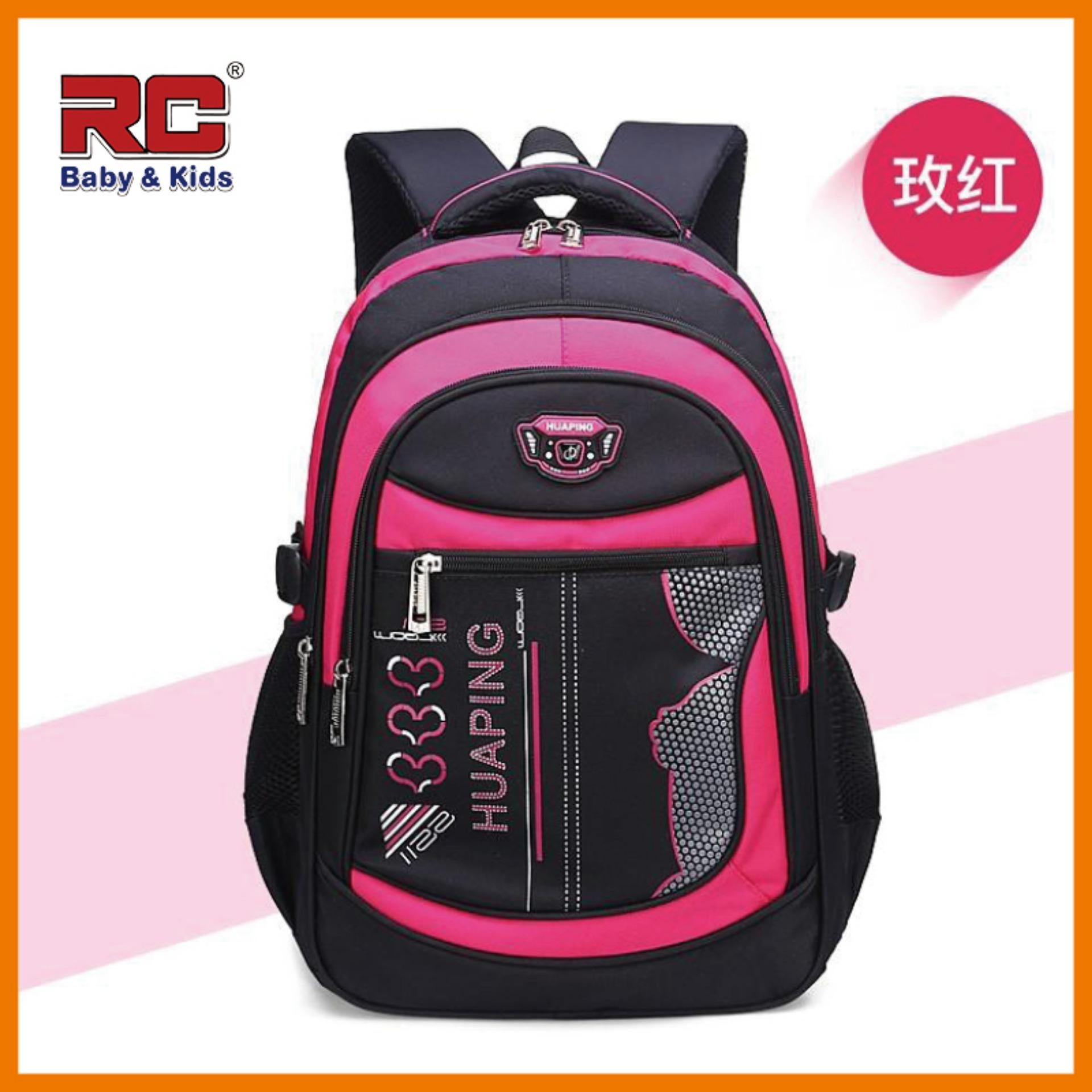RC-Babykids School Bags Backpack for Kids shoulder bag Primary 1 to Primary 6 Light Ergonomic Quality Kids Backpack