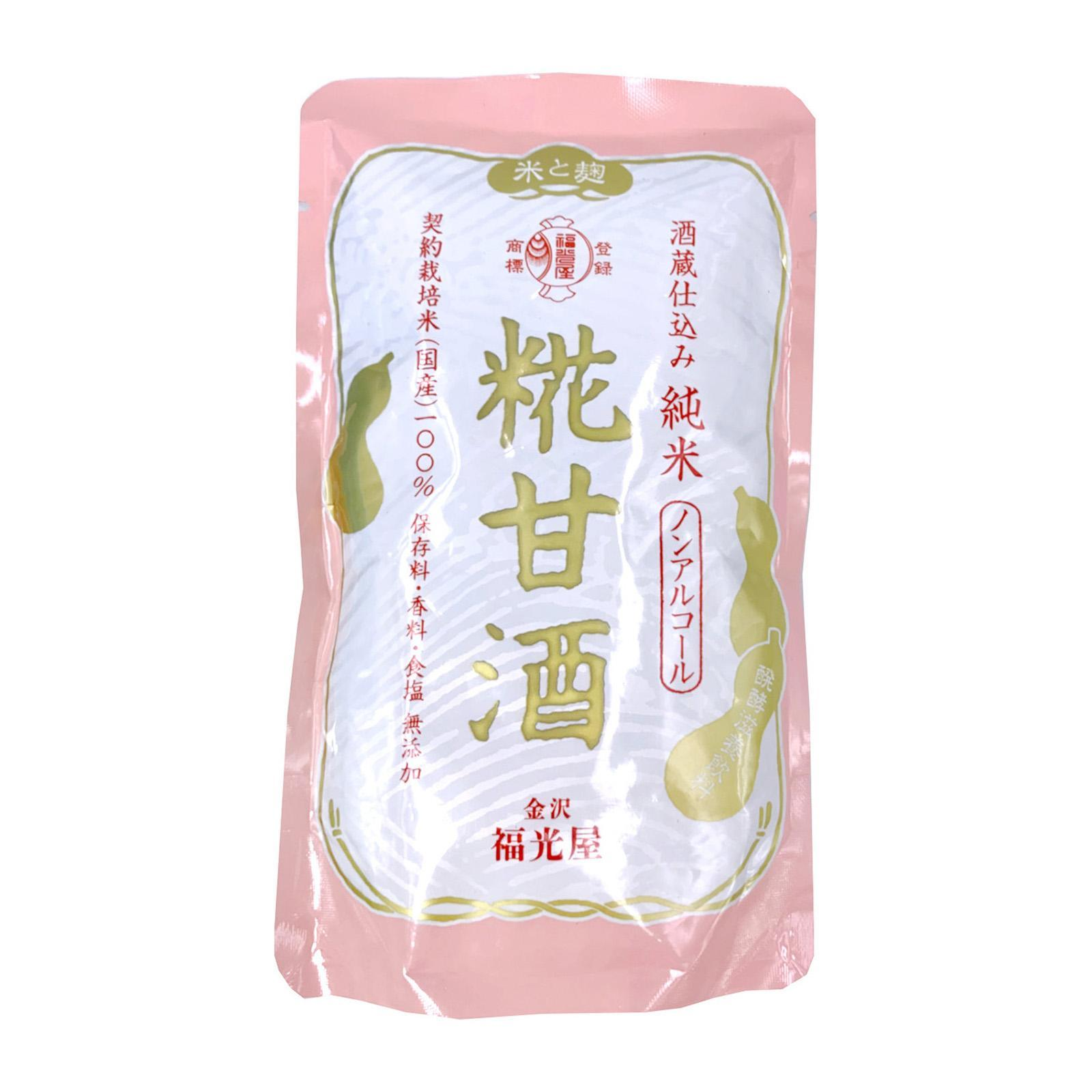 Fukumitsuya Premium Junmai Silky Amazake (Rice Base Cultured Drink) Pouch