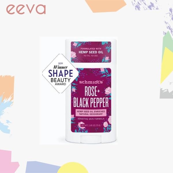 Buy Schmidts Naturals Rose + Black Pepper Deodorant Stick Singapore