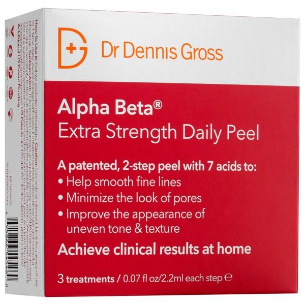 Buy DR DENNIS GROSS SKINCARE Alpha Beta Extra Strength Daily Peel - 3 treatments X 2.2 mL Singapore