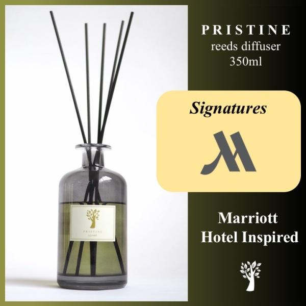 Pristine Reed Diffuser - Marriott - Signature Scent - 350ml