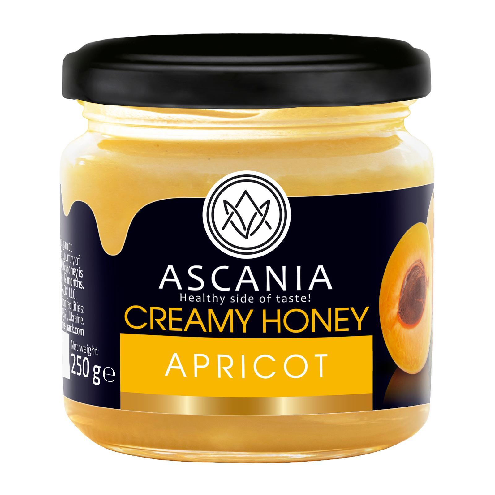 Ascania Creamy Honey With APRICOT
