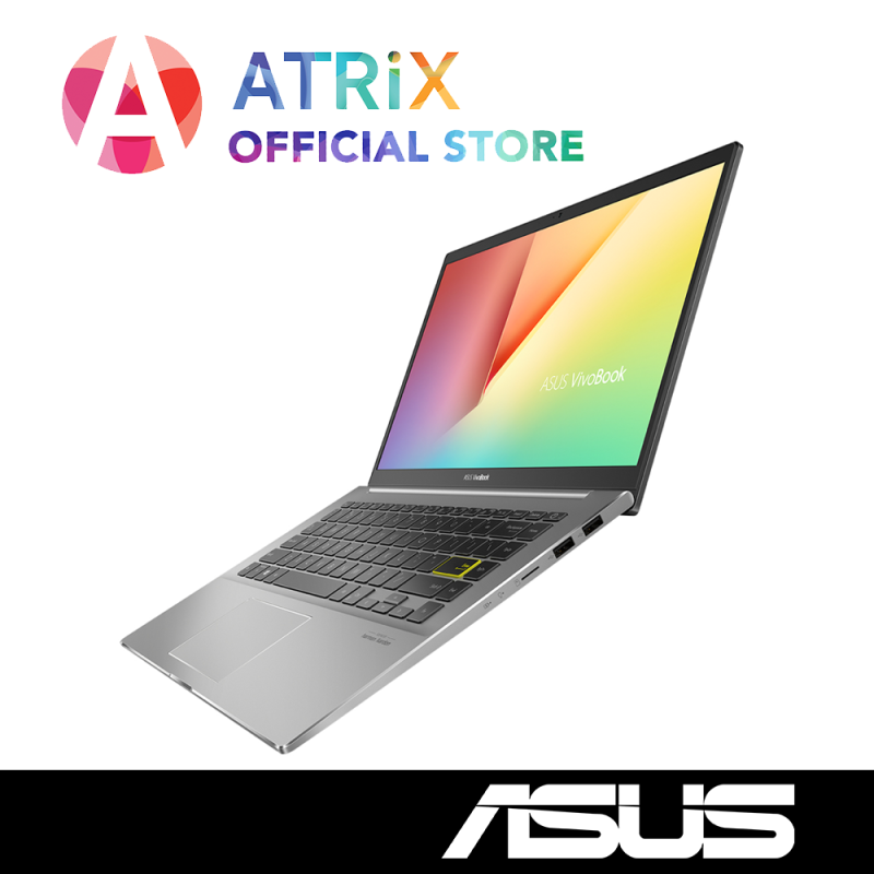 【Same Day Delivery】ASUS 2020 VivoBook S14 S433FL〖Free Office 2019〗Wifi 6 AX | 16.1mm Slim design | 14inch FHD | i7-1065G7 | 8GB RAM | 1TB PCIe SSD | MX350 Graphics | Win10 Home | 2Yrs ASUS Warranty Deliver by Today | S433JQ-EB098T