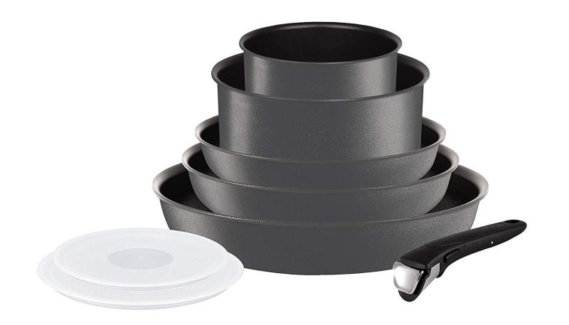 Tefal Ingenio 5 Performance Gray 8pc - All cooktops including induction ( Ready Stock ) Singapore