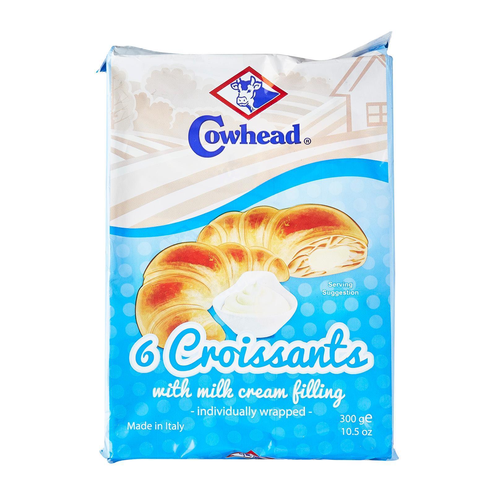 Cowhead Crossiant With Milk Cream Fillings