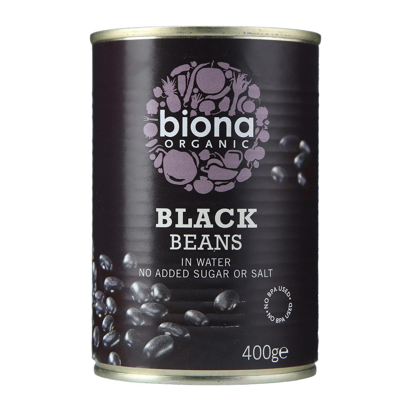 Biona Organic Black Beans - By Wholesome Harvest